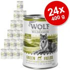 Lot Wolf of Wilderness Senior 24 x 400 g pour chien
